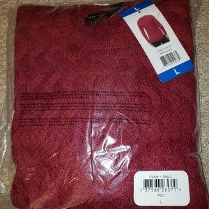 L Women's Sweater Red
